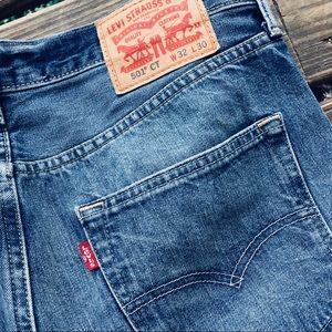 a4f4d60afc6 Levi s Jeans - Men s Levi s 501 CT (custom   tapered) 32x30